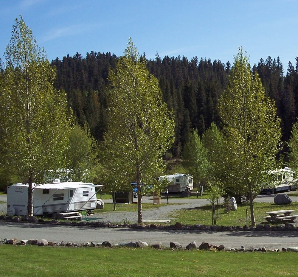 Logan Lake Campground in Summer